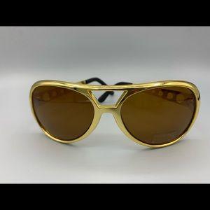 Elvis Celebrity Aviator 60s Style Sunglasses UVA/B